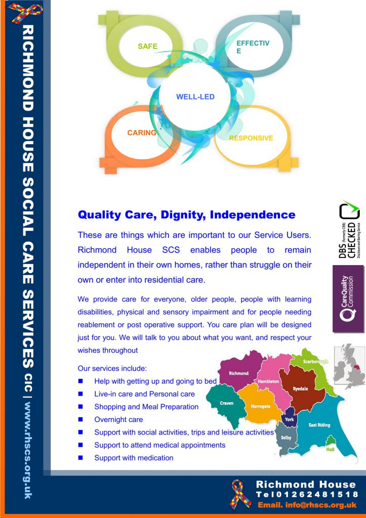 Quality care leaflet 1