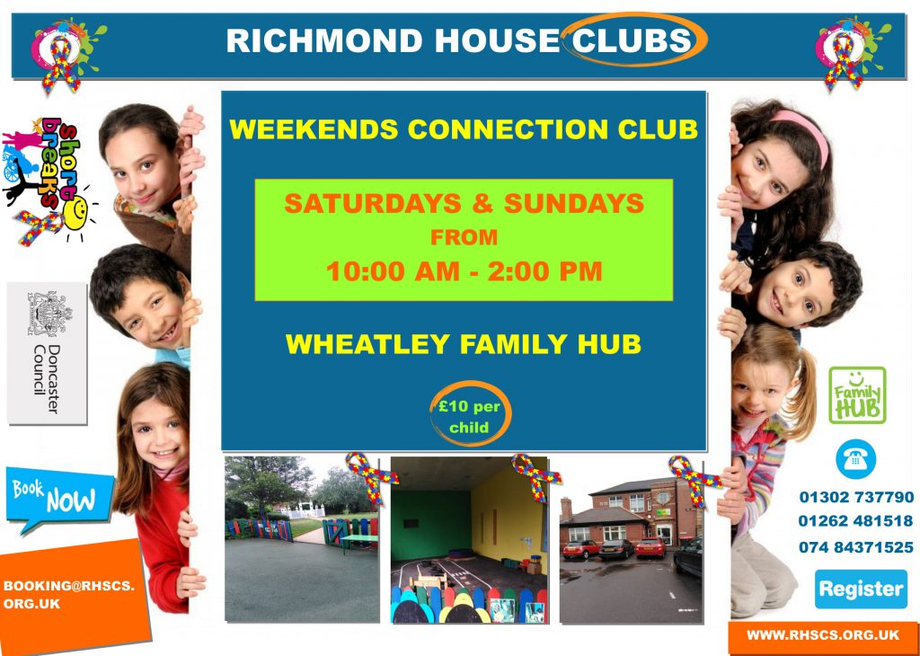Wheatley Family Hub Weekends Connection Club Leaflet 1