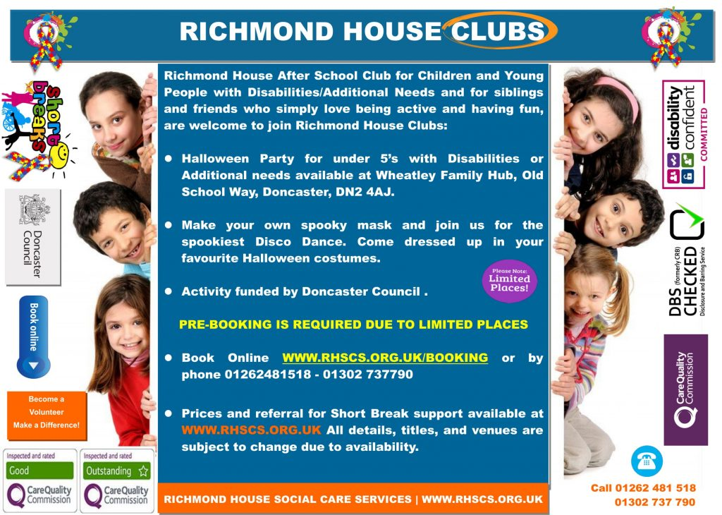Richmond House Halloween Party Oct 25 2019 for under 5 2