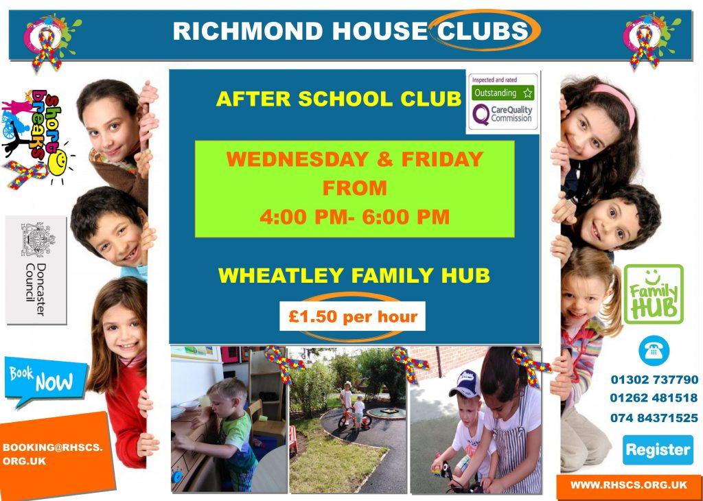 Wheatley Hub After School Club Sep 2019 1