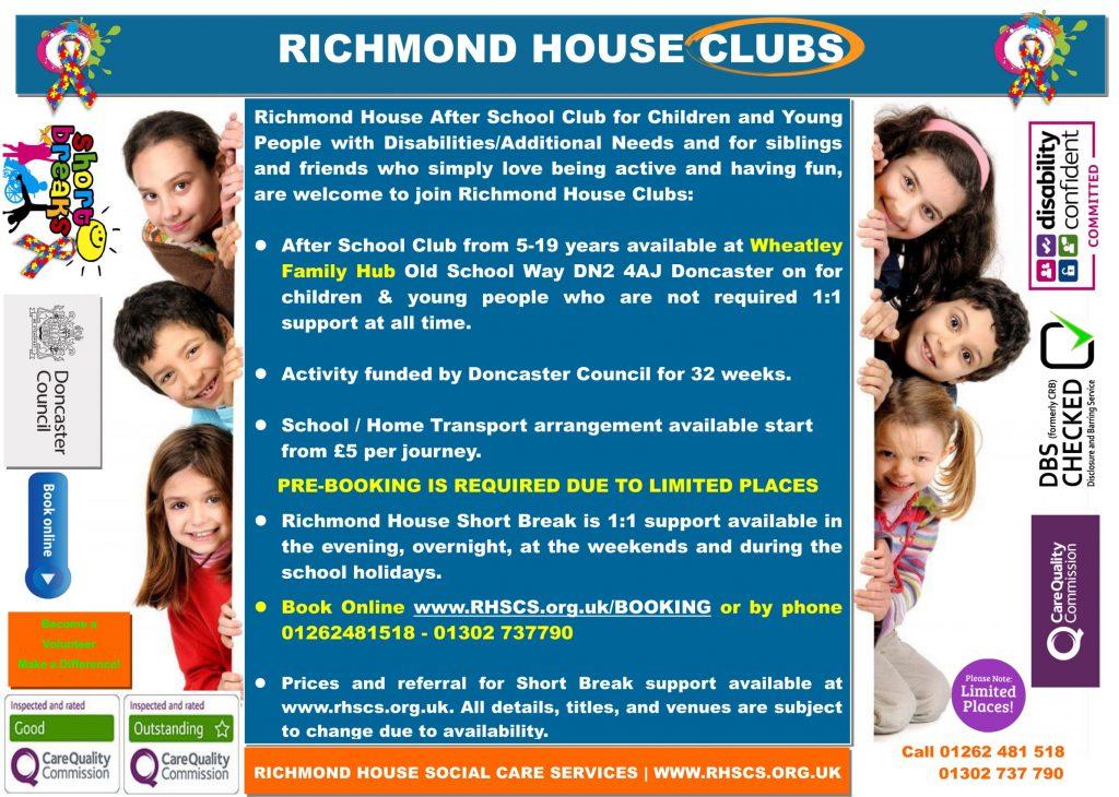 Wheatley Hub After School Club Sep 2019 2